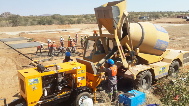 REED A40HP Concrete Pump Training