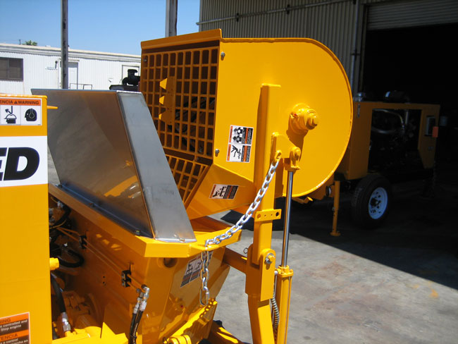 REED Concrete Pump with Optional Mixer