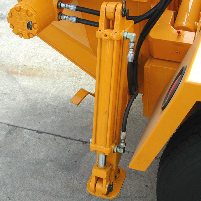 REED Concrete Pump Hydraulic Outriggers
