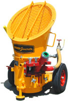 REED LOVA Guncrete Gunite Machine