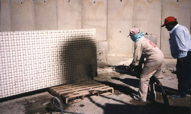 Shotcrete Panel Building System Photo