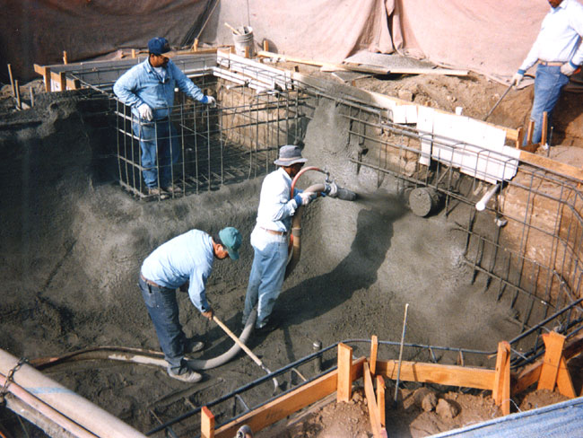 Shotcrete Swimming Pool